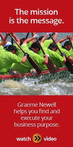 Learn how Graeme Newell can help your business to build and implement a purpose-driven strategy in shorter terms as a keynote sales speaker.