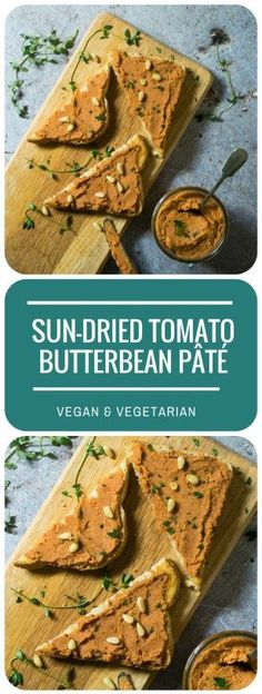 This luscious Sun-dried Tomato Butterbean Pate