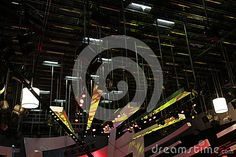 Photo about Lighting equipment of TV studio - lighting installation. Image of interior, industry, display - 78382661 Photo Lighting, Studio Lighting, Light Installation, Interview, Technology, Stock Photos, Tv, Image, Tech