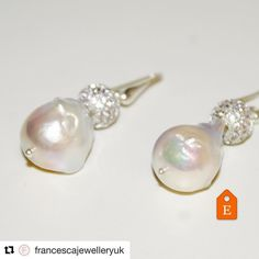My new favourite jewellery ������❤️ Interested Inbox me #Repost @francescajewelleryuk with @repostapp ・・・ Fresh new arrival to our Etsy shop �� These stunning baroque pearls earrings �� Check our link in Bio �� • #etsyuk #london #italianstyle #bridal #bridalfashion #earrings #bridesmaids #bridesmaid #francescajewellery #fashionshop #etsygift #shopetsy #etsyhandmade http://gelinshop.com/ipost/1522655990611628170/?code=BUhj45bhtCK