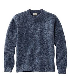Find the best Men's Bean's Classic Ragg Wool Sweater, Crewneck at L. Our high quality Men's Sweaters are thoughtfully designed and built to last season after season. Formal Men Outfit, Stylish Mens Outfits, Outdoor Apparel, Sweater Making, Western Shirts, Mens Sweatshirts, Wool Sweaters, Autumn Winter Fashion, Rib Knit