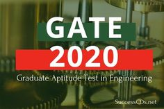 Check out GATE 2020 Notification and dates. Also look for Latest Graduate Aptitude Test in Engineering GATE 2020 Registration, Eligibility and Application Gate Exam, Model Question Paper, Degree Holder, Voter Id, Engineering Technology, Entrance Exam, Application Form, Mathematics, September