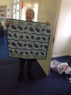 Gorgeous fishy quilt