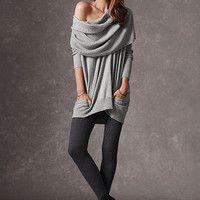 Multi-way Tunic Sweater - A Kiss of Cashmere - Victoria's Secret