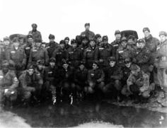 "Pfc. Elvis Presley and 1st Lt. Edward Hart with the rest of 1st Battalion 32rd Armor, in Germany, December 1958. Presley is on the bottom row, second from the right, and Hart is standing far right. (Photo courtesy William J. Taylor Jr.)  |  A number of men and tanks from the 32nd Armor appeared in Elvis' 1960 film, ""G.I. Blues."" Hart was not one of them, having rotated out of Germany in early 1959. ,,,,,, Edward & Elvis: Sometimes, a salute is enough 