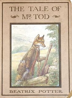 The Tale of Mr. Tod - First edition cover, 1912
