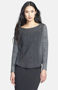 Eileen Fisher Bateau Neck Delave Linen Top (Regular & Petite) available at #Nordstrom