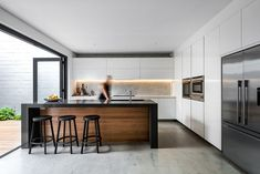 This low maintenance house was designed to 'lock and leave'