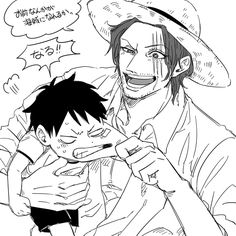 One Piece, Monkey D. Luffy, Shanks