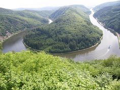 Saarschleife Germany
