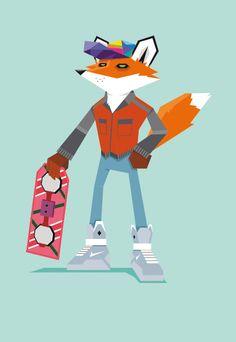 Twenty-First Century Fox by Daniel Spreitzer