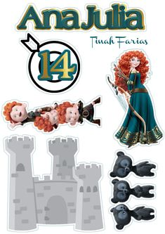 Brave Disney, Disney Diy, Princesas Disney, Birthday Bash, Cool Drawings, Pixar, Minecraft, Printables, Cool Stuff