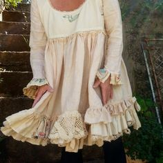 Vintage Style Prairie Dress Made to Order by MegbyDesign on Etsy, $265.00
