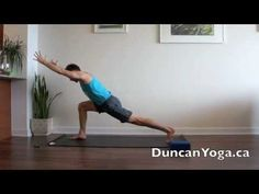 """""""Burn off calories and stress!"""" Power Yoga Flow"""