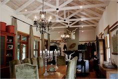 wood vaulted ceilings  Google Image Result for http://1.bp.blogspot.com/__YxAtSzoXAo/SwNPWa9SYgI/AAAAAAAAEdo/5Uu-CT-f26Y/s800/living%2Brm%2Bsouth%2Bafrica%2Bhouse.jpg