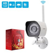 Zmodo 720p HD Outdoor Home Wireless Security Surveillance Video Camera System (1 Pack)