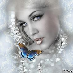 PicMix Animation Lovely | ... Animation on Pinterest | Fantasy women, Glitter graphics and Animated