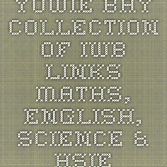 Yowie Bay collection of IWB links - Maths, English, Science & HSIE