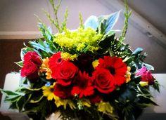 1st Attempt at Flower Arranging