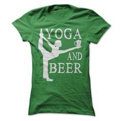 Yoga and Beer T Shirts, Hoodies, Sweatshirts