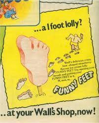 Funny Feet Ice lolly