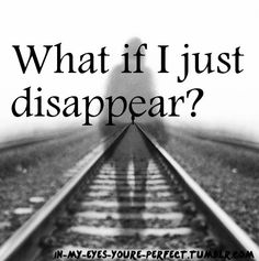 If I disappeared would anyone care? I've been told that someone wants me to die and I'm starting to wonder if anyone really cares about me. Im so broken and nobody can see it. I try to keep it to myself but it's getting harder...
