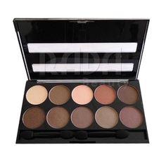 (3,99) W7 - Paleta de 10 Sombras de ojos - 10 Out of 10 Browns