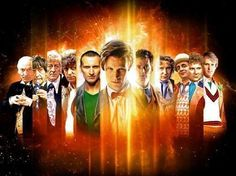 Doctor Who 50Th Anniversary All Doctors Movie Poster Standup 4inx6in