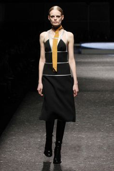 ONE OF THE SEXIEST DRESSES FROM MILAN FASHION WEEK