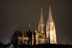 Regensburg Cathedral (13c.), Germany