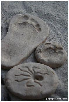 Cómo hacer plastilina casera con arena. Receta de la pasta de sal, ideal para hacer manualidades con pasta de modelar. Plastilina de arena.