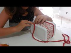 Potinho de sorvete muitas dicas de como reaproveitar e fazer coisas lindas - YouTube