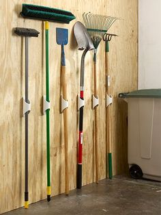 GARDEN SHED ORGANIZATION  PVC Tool Holder EXTREME MOUNTING TAPE TODAY …