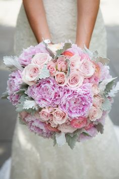 Bridal & Bridesmaids Bouquets | Wedding Gallery and Inspiration by Bride & Blossom, NYC's Only Luxury Wedding Florist -- Wedding Ideas, Tips and Trends for the Modern, Sophisticated Bride