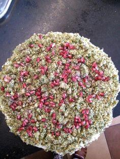 Lesne runo. Pyszne lekkie ciasto ze szpinakiem
