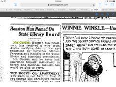 Abe Gordon Houston Chronicle 01/20/1934 Houston, TexasPage:   16