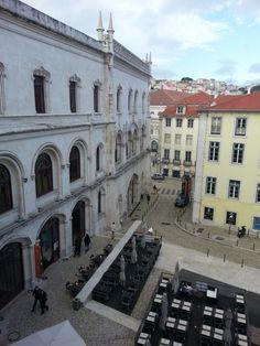 Estação do Rossio, Esplanadas  Lisboa