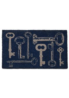 home at last doormat: feeding my key obsession