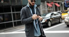 http://chicerman.com  billy-george:  Layered!  Source: Four Pins  #streetstyleformen