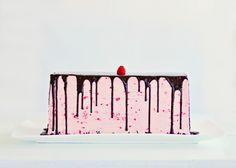 Dark Chocolate Raspberry Buttercream Cake