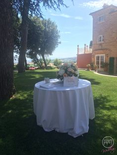 guestbook table in Italy