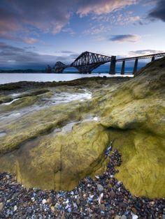 Forth Rail Bridge, Firth of Forth, Edinburgh, Scotland, UK By Alan Copson