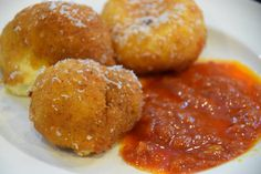 Delicious Fried Ricotta Cheese Balls Cooking Italian with Joe