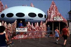 Star Trek & Planet of the Apes ride Wildwood, NJ Wildwood Boardwalk, North Wildwood, Planet 1, Planet Of The Apes, Coney Island Amusement Park, Amusement Parks, Morey's Piers, Star Trek Theme, Star Trek Merchandise