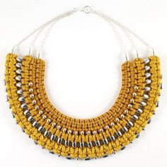 Sollis Jewellry  Mustard Hues for Fall 2013