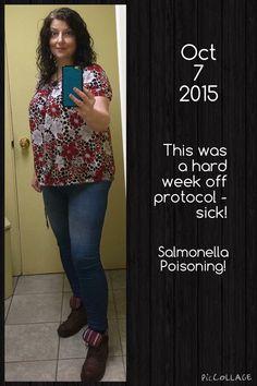 Week of being really sick