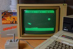 Game Apple II / Choplifter (1982) by alainGB, via Flickr