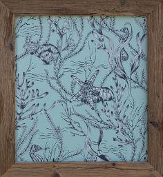 Bestell Nr. 007  Meeres Tapeten Bild Seahorse von Hookedonwalls Grösse 700 mm x 635 mm   CHF. 140.00
