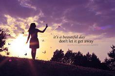 """Beautiful Day"" - U2"