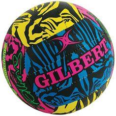 Netball Equipment & Gear - Buy Online - Rebel Sport - Gilbert Casey Williams Signature Netball Fluro Size 5